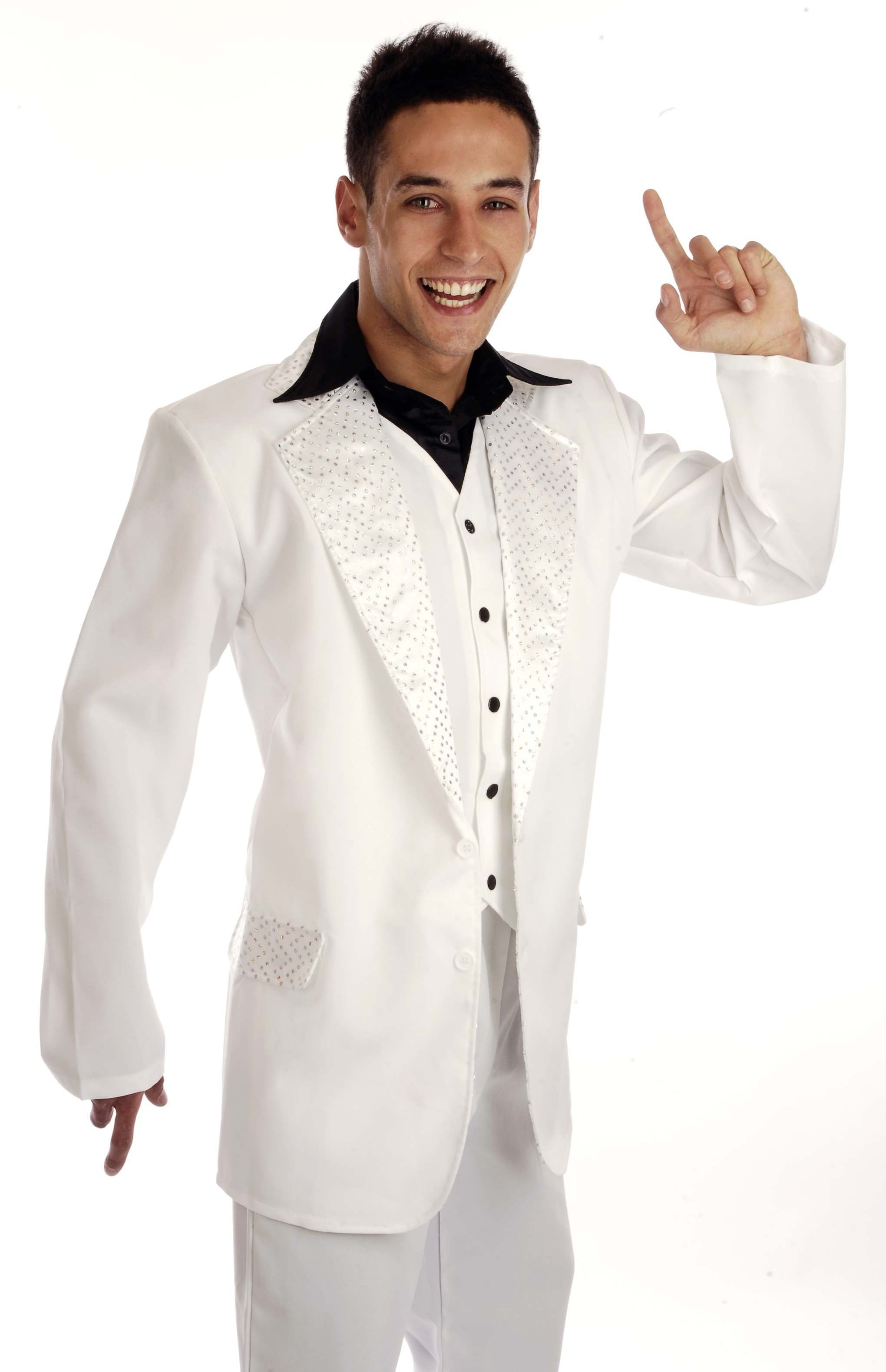 Disco King Male Fancy Dress Costume Mens (1970S)