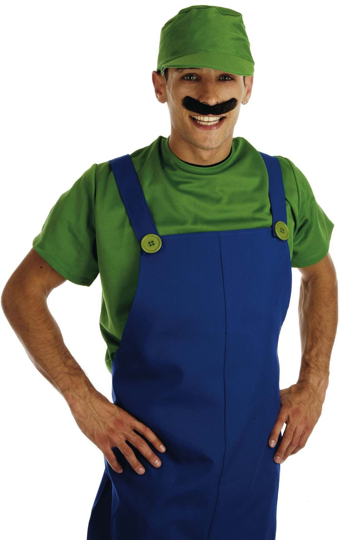 Green Plumbers Mate Male Fancy Dress Costume Mens (Cartoon)