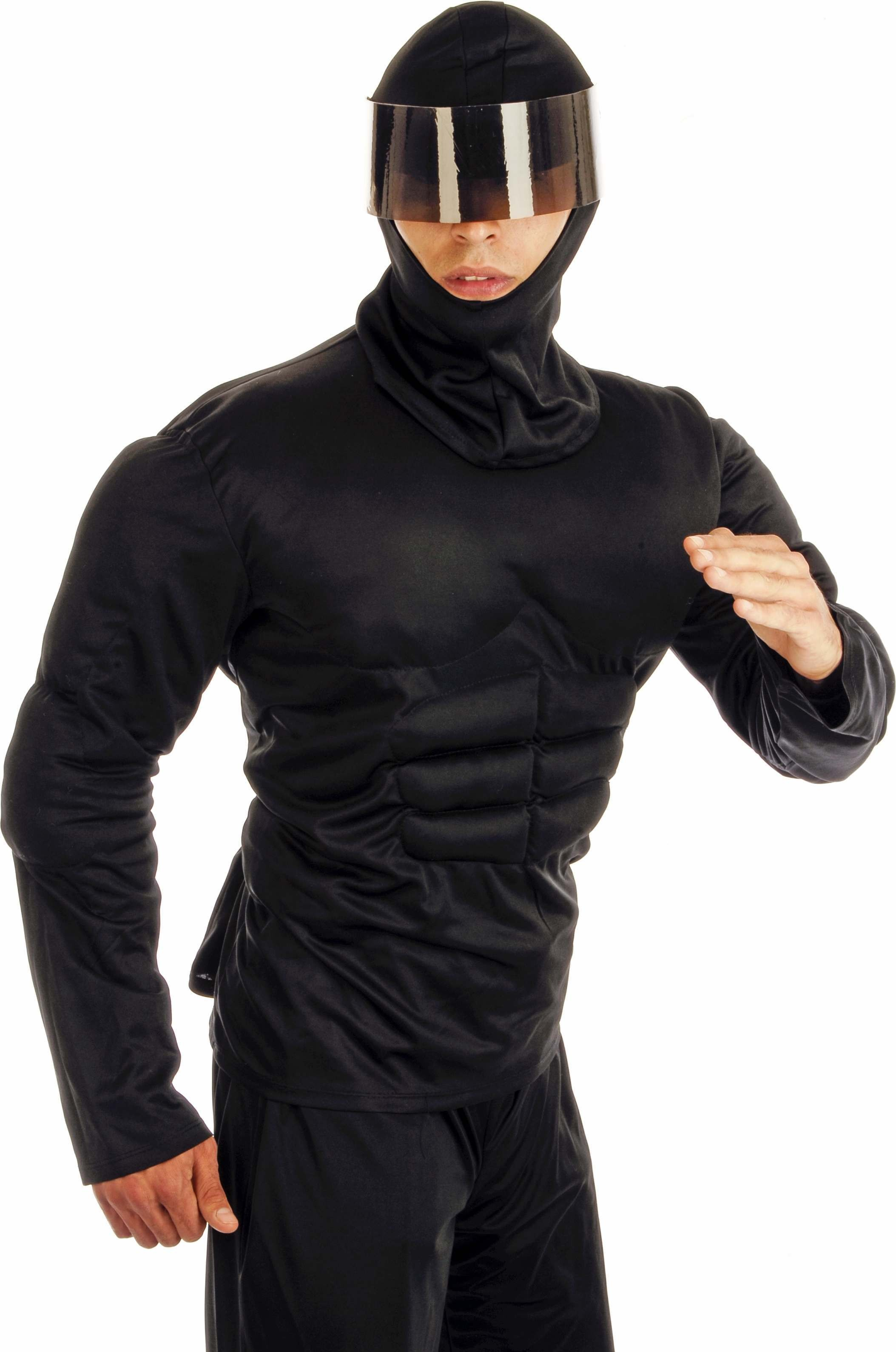 Ninja Warrior Fancy Dress Costume Mens (Ninja)