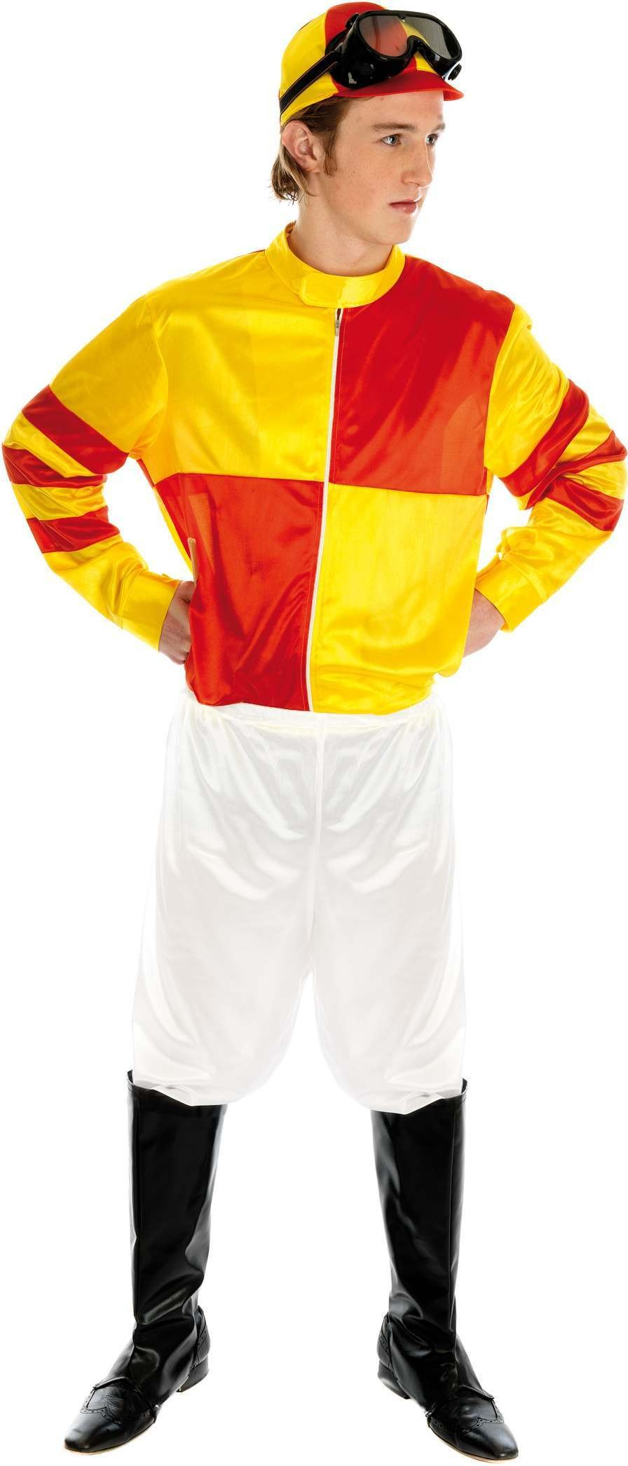 Jockey Fancy Dress Costume Mens (Hen & Stag)
