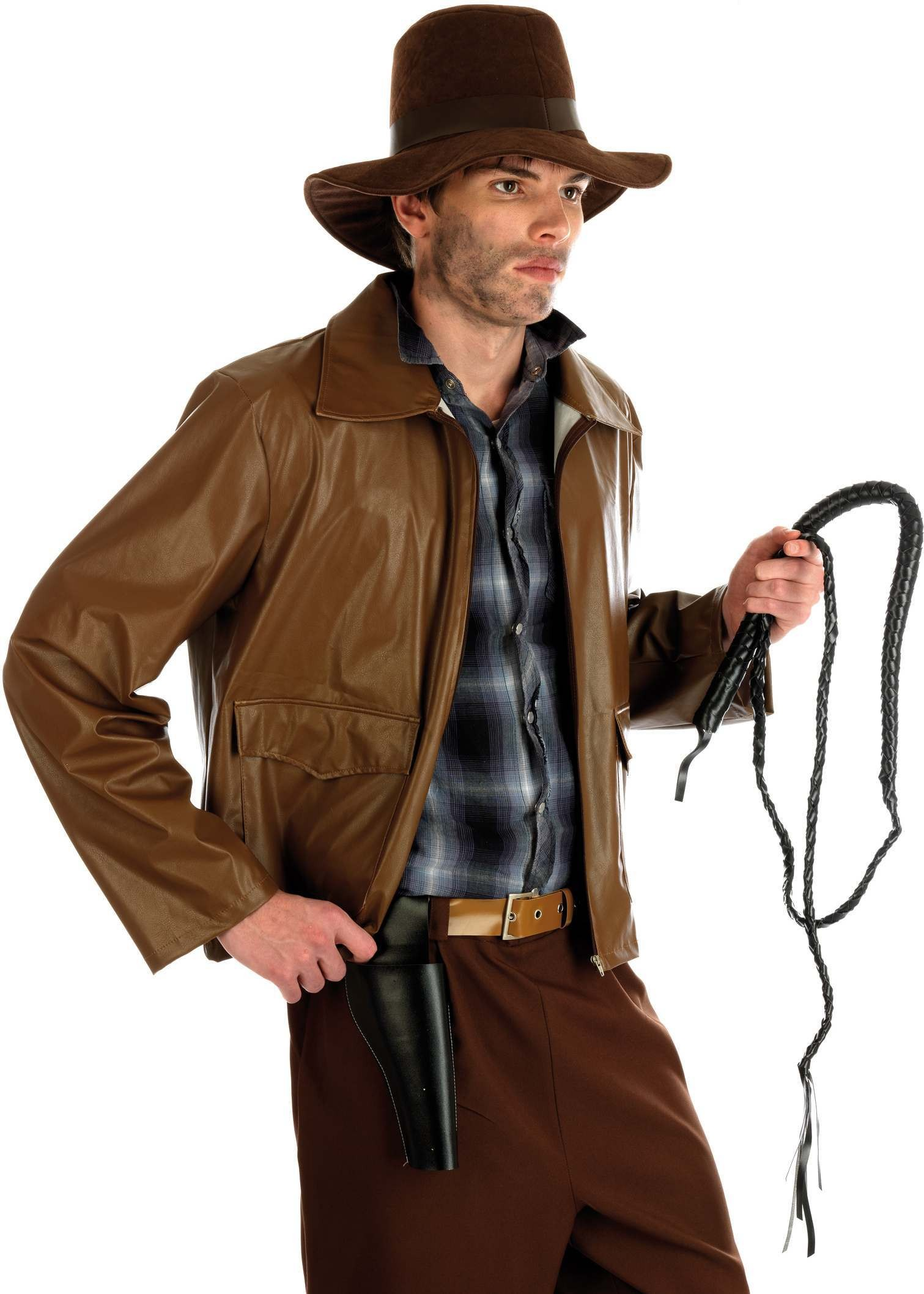 Archaeologist Adventurer Fancy Dress Costume Mens (Film)