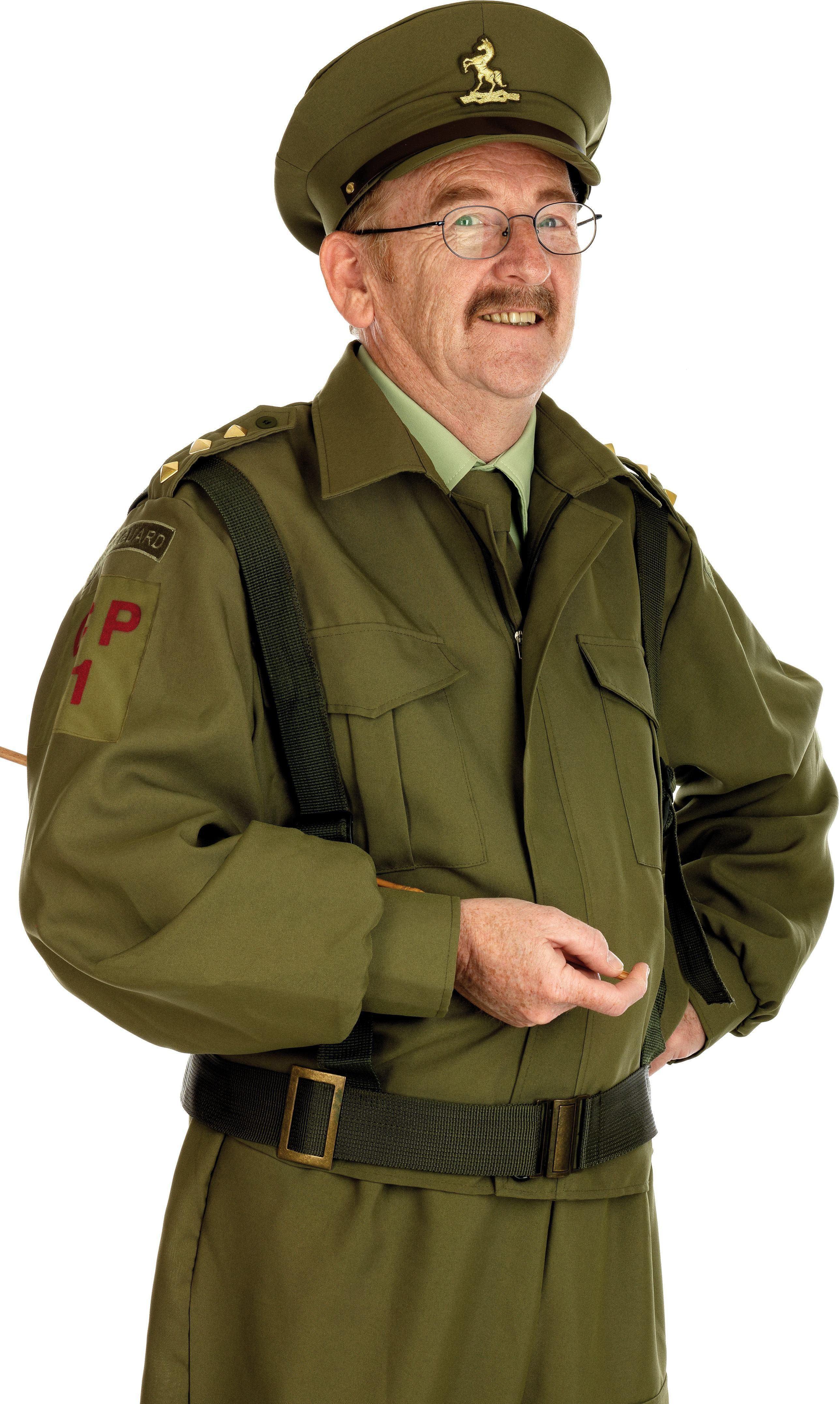 British Home Guard Officer Costume Fancy Dress Costume (Army)