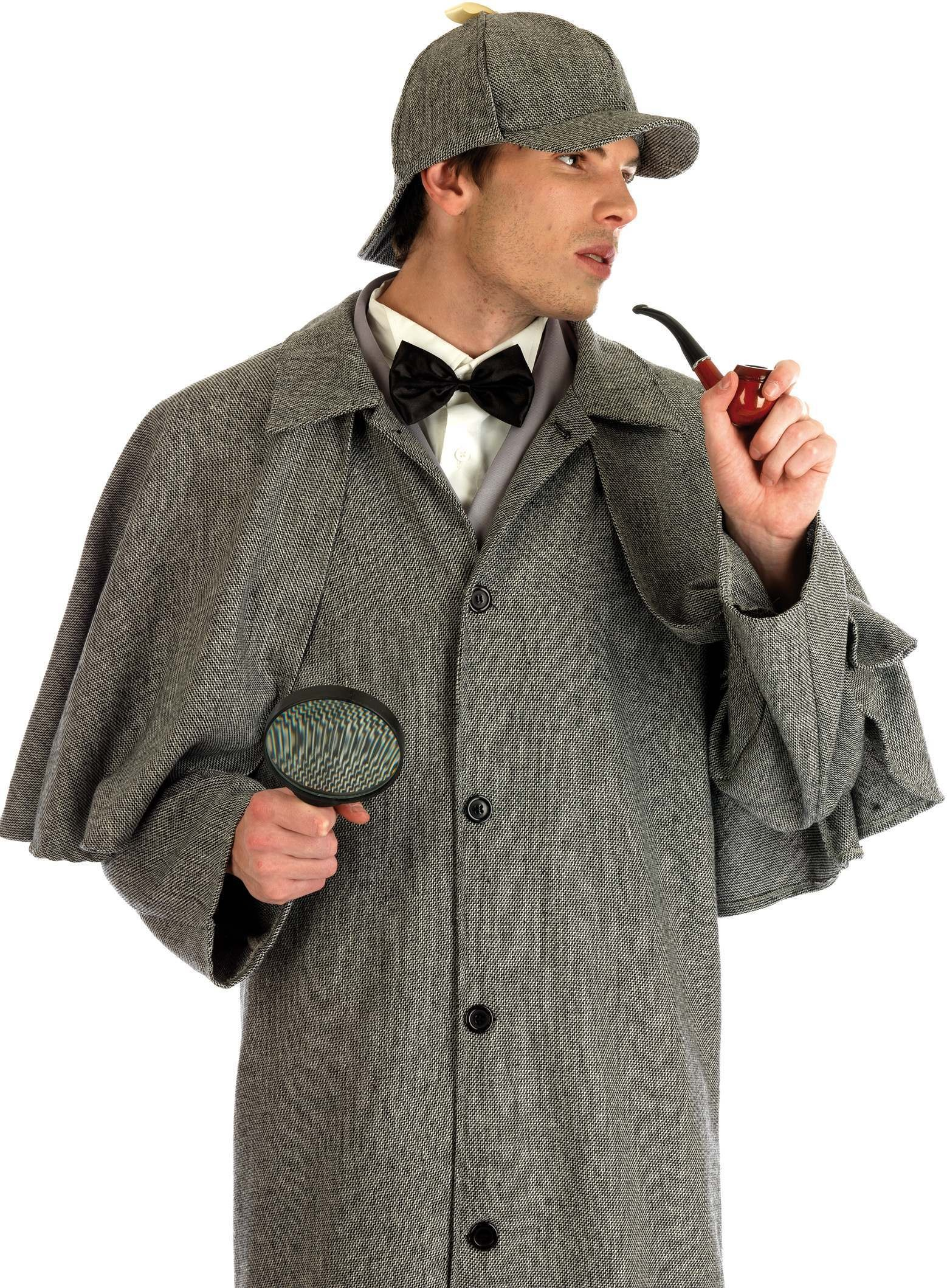 8c495472a7d Victorian Detective Fancy Dress Costume Mens (Old English)