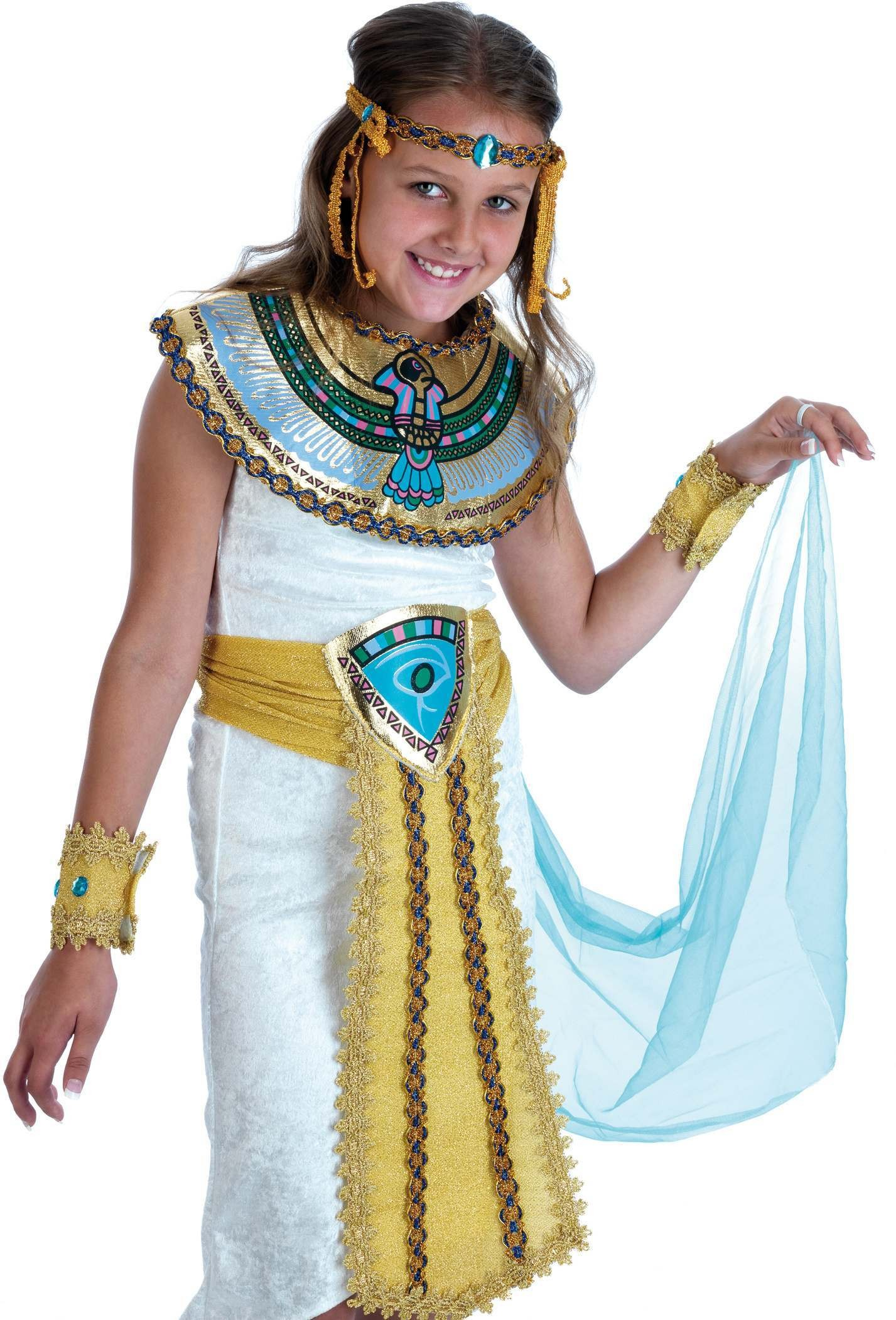 Egyptian Girl Fancy Dress Costume Girls (Egyptian)