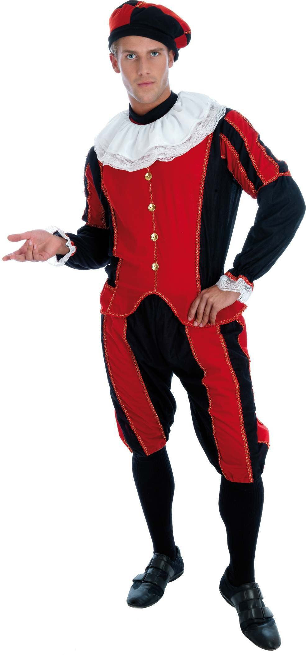 Tudor Man Fancy Dress Costume Mens (Medieval)