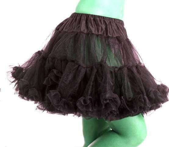 Deluxe Black Tutu One Size Fits Most Ladies (Sexy)