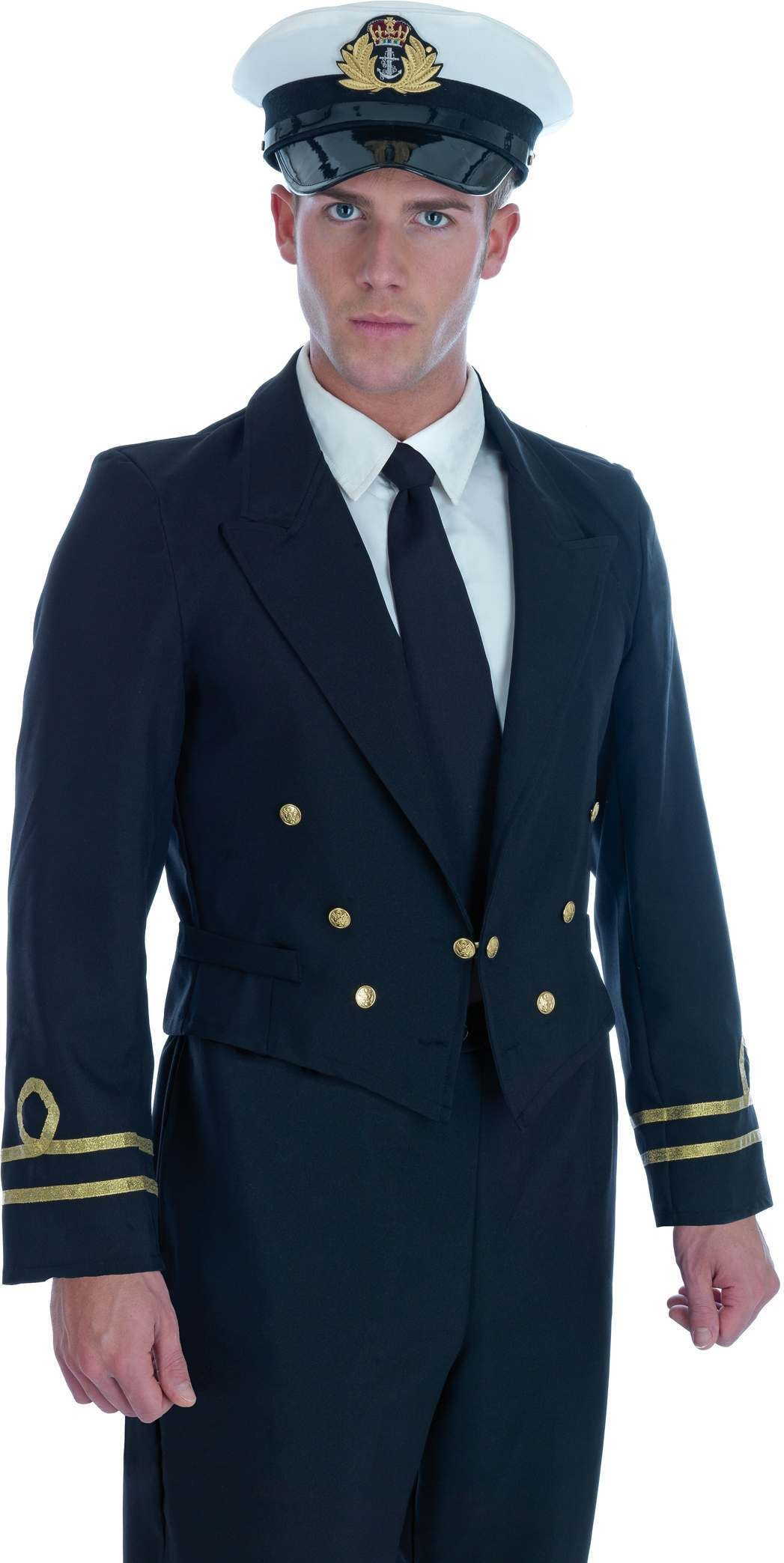 Dress Blue Navy Male Costume Fancy Dress Costume Mens (Army)
