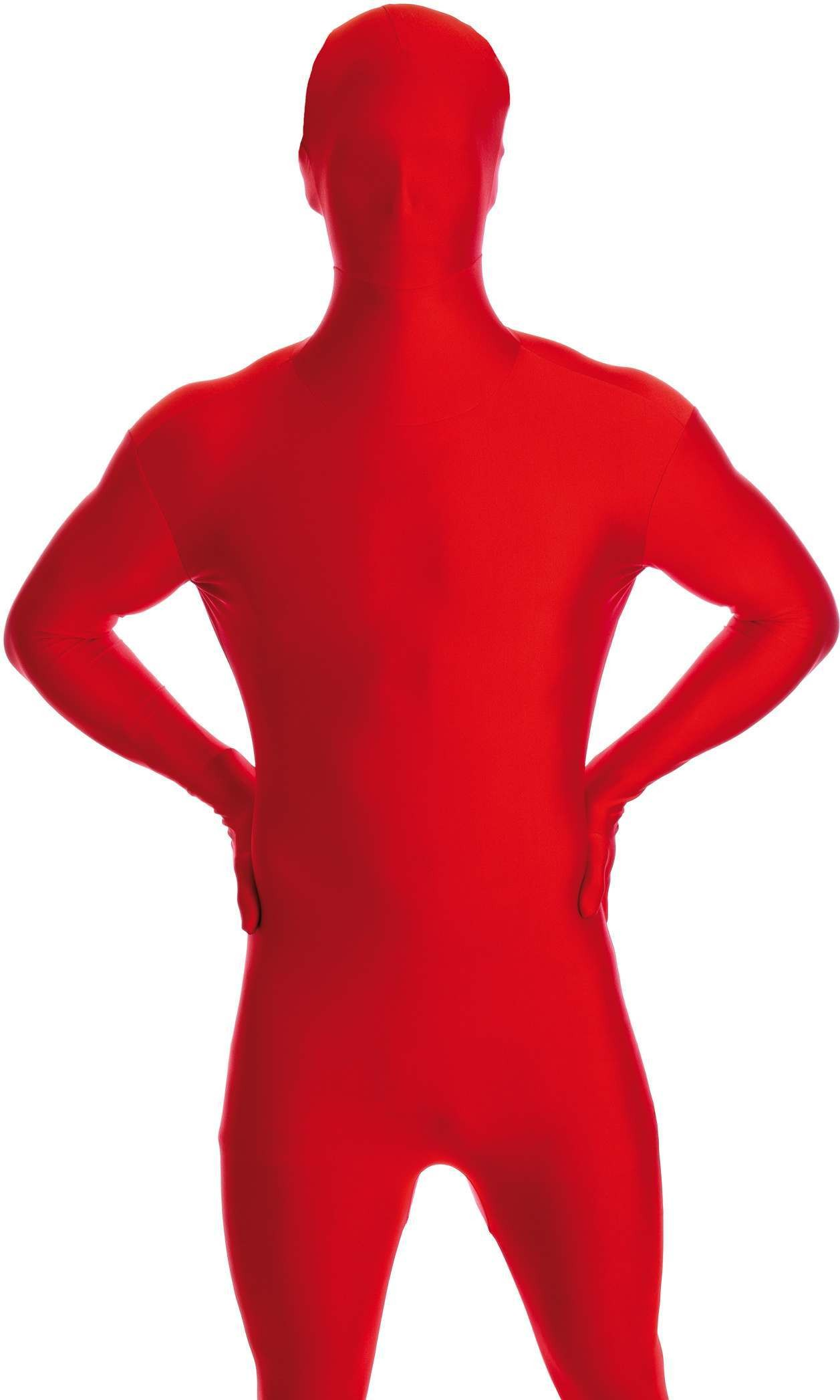 Red Body Suit Fancy Dress Costume Hen Amp Stag