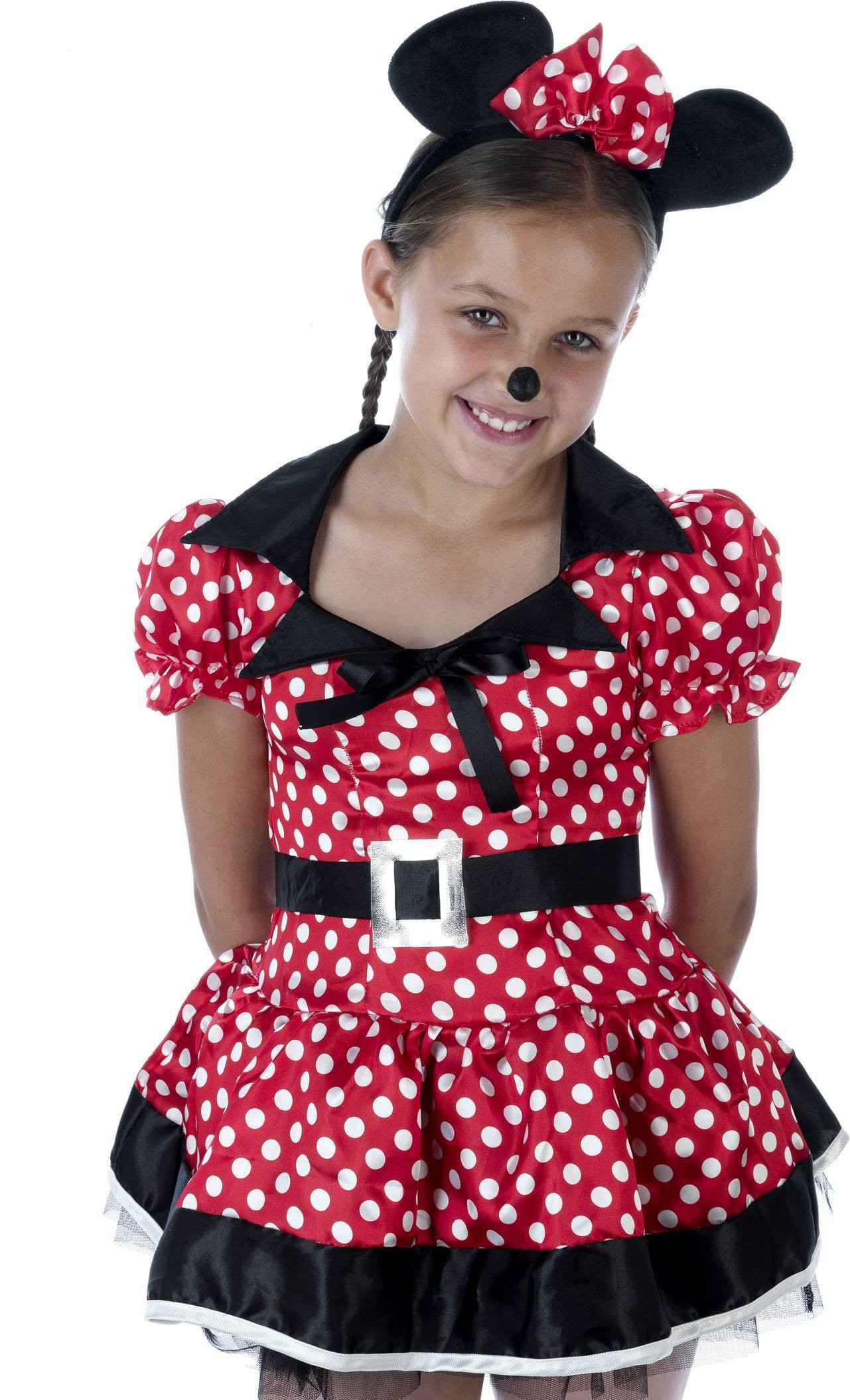 Kids Miss Mouse Fancy Dress Costume Girls (Cartoon)