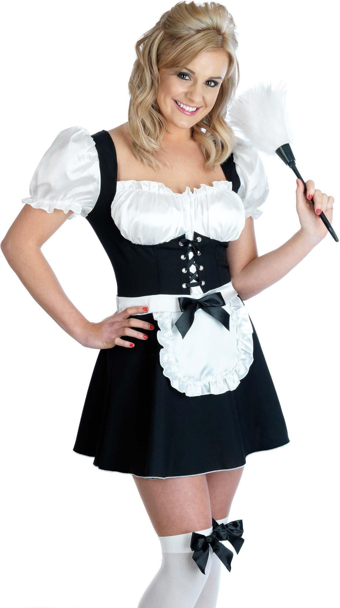 Sexy Maid Fancy Dress Costume Ladies (Sexy)