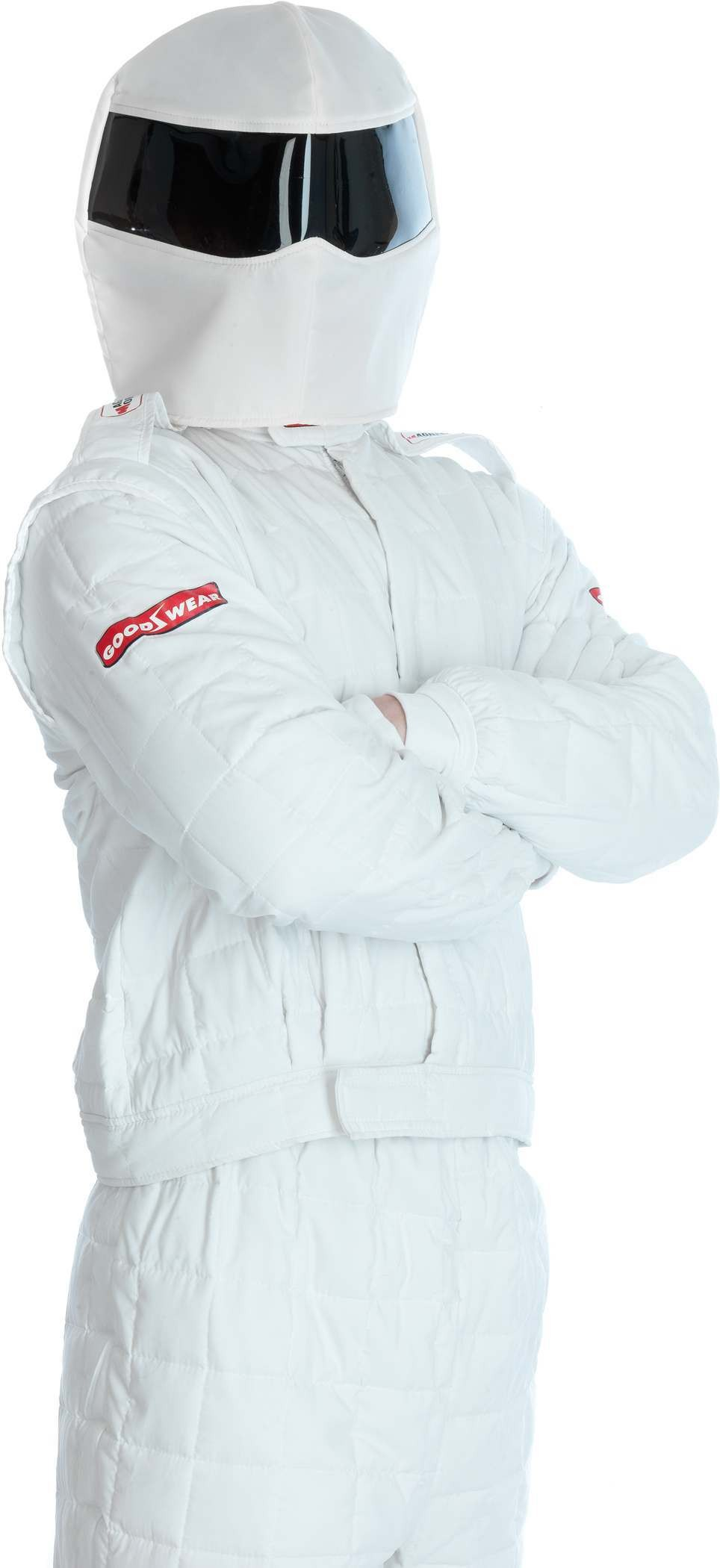 Stig Racing Driver Fancy Dress Costume Mens (Tv)