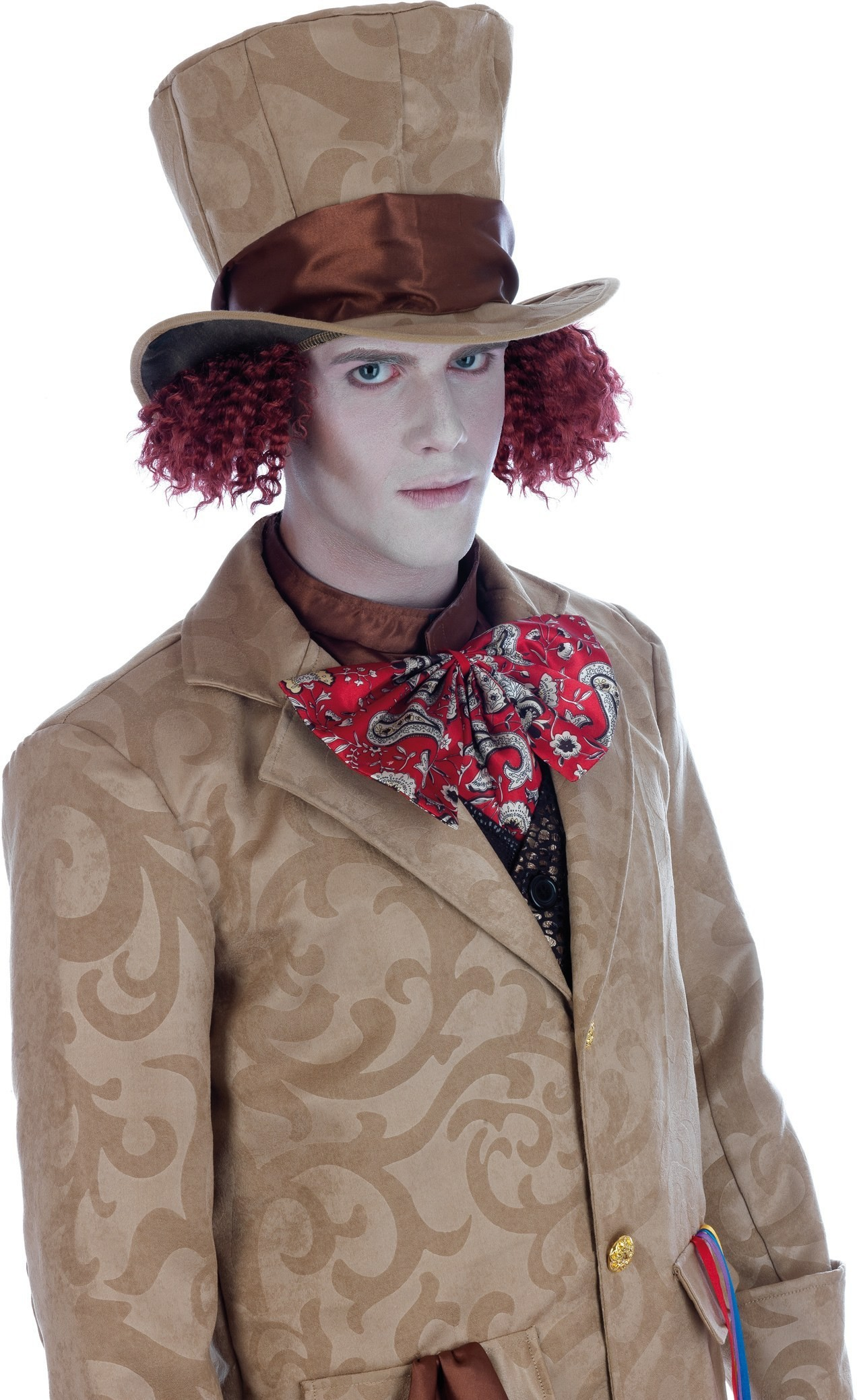 Mad Hatter Male Costume Fancy Dress Costume Mens (Film)