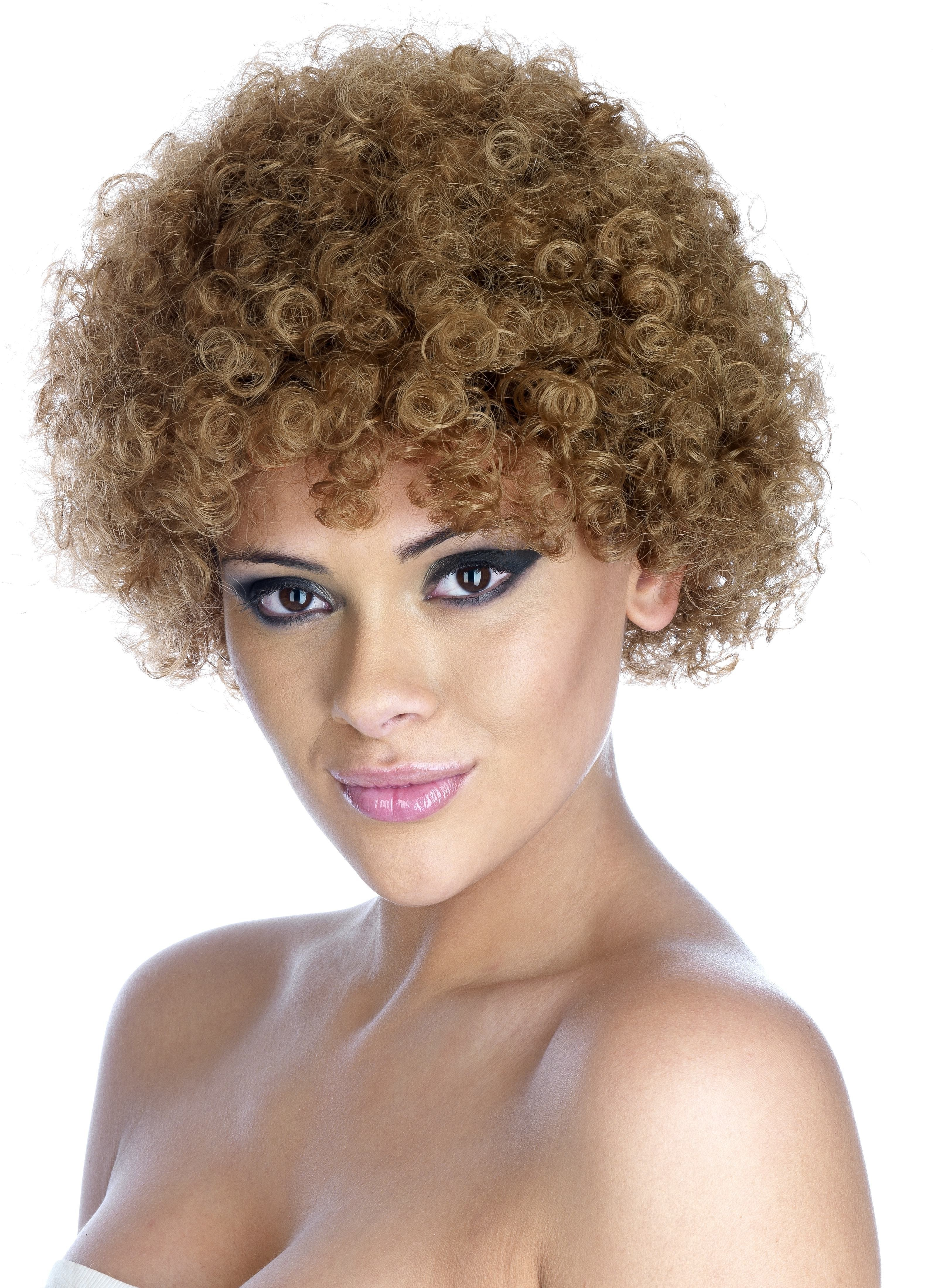 Clown Brown Pop Wig One Size (Clowns)