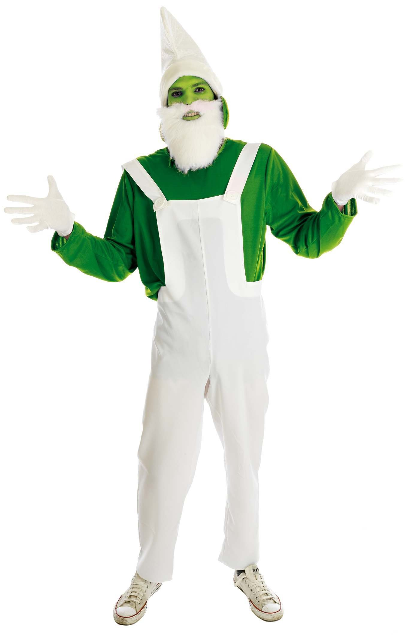 Green Garden Gnome (Fancy Dress Costume)