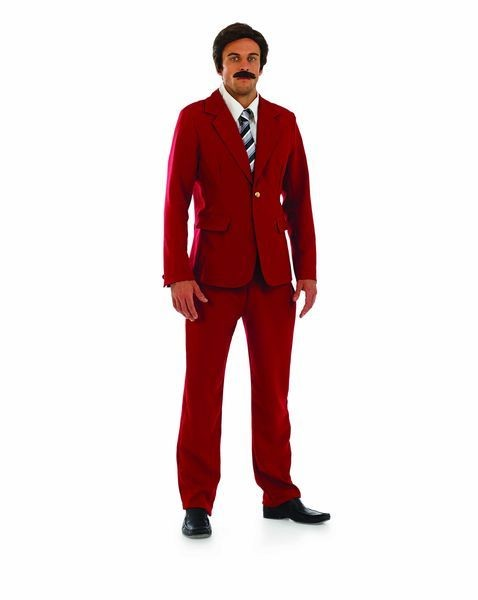 Mens Tv Newsreader Fancy Dress Costume