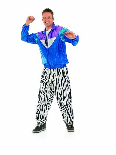 Mens 80S Breakdancer/Streetdance Fancydress Costume