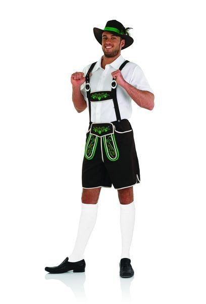 Mens Oktoberfest Bavarian Man Fancy Dress Costume