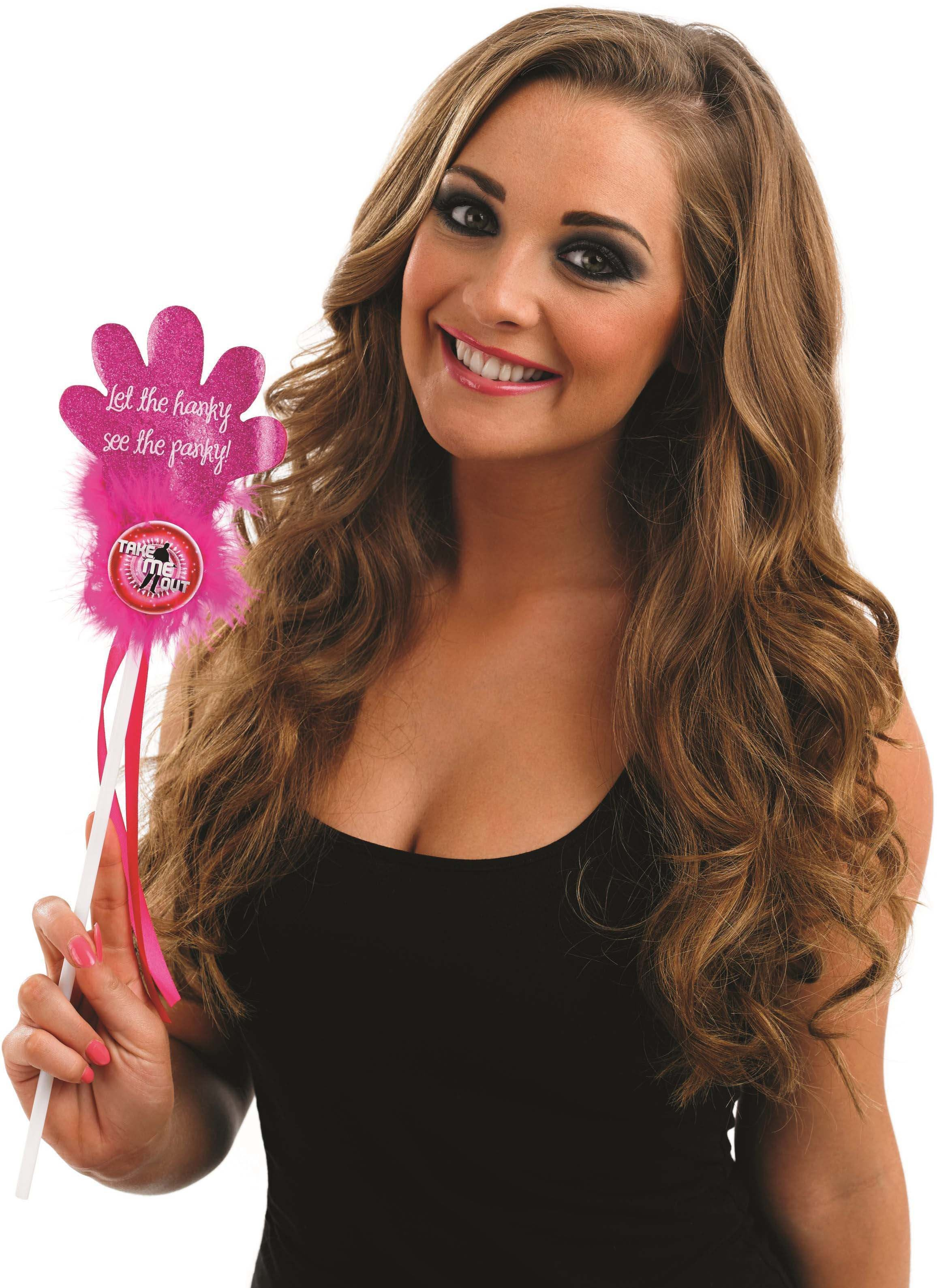 Take Me Out Hen Party Accessory Flashing Slapper Stick