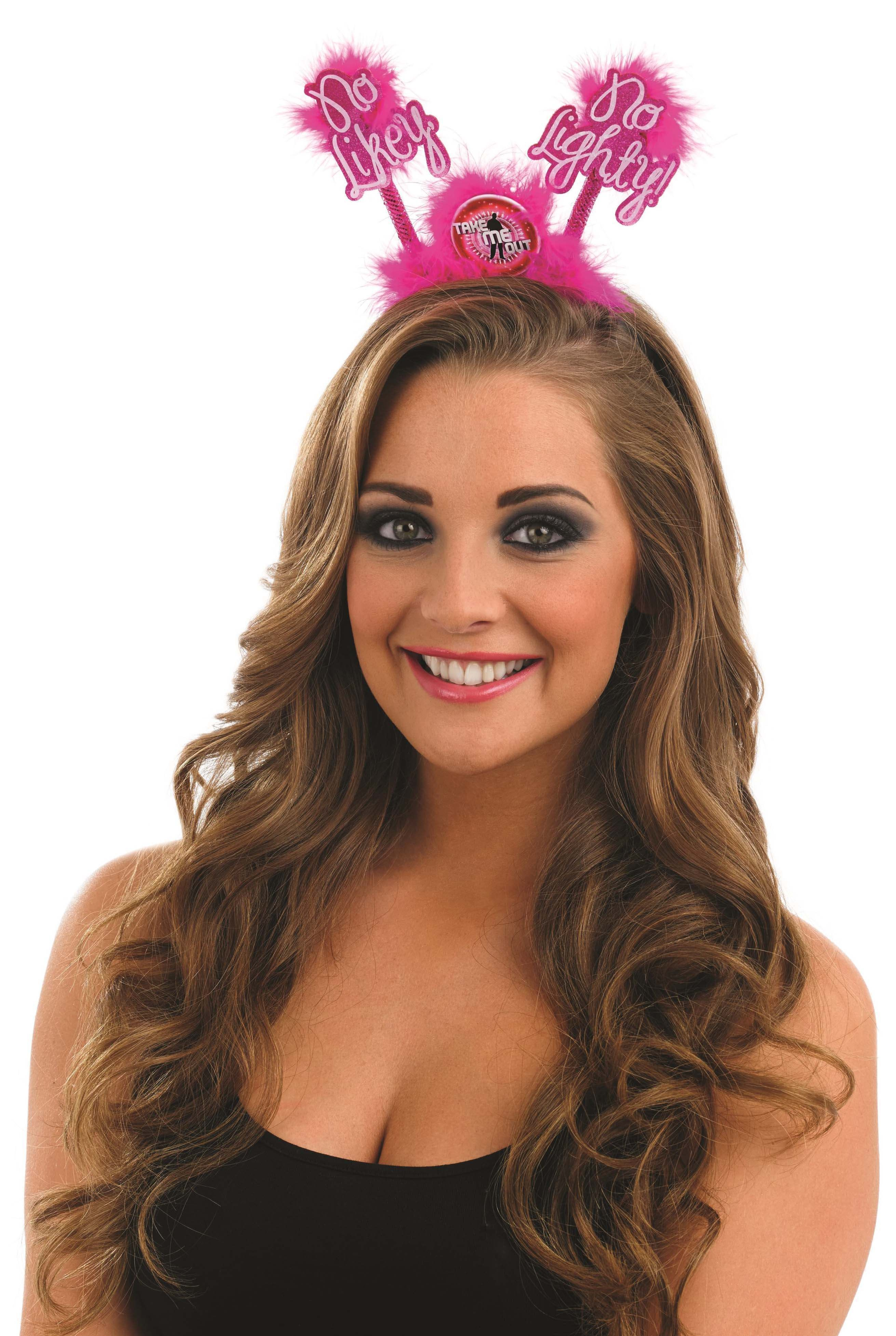 Take Me Out Hen Party Accessory No Likey No Lighty Head Boppers