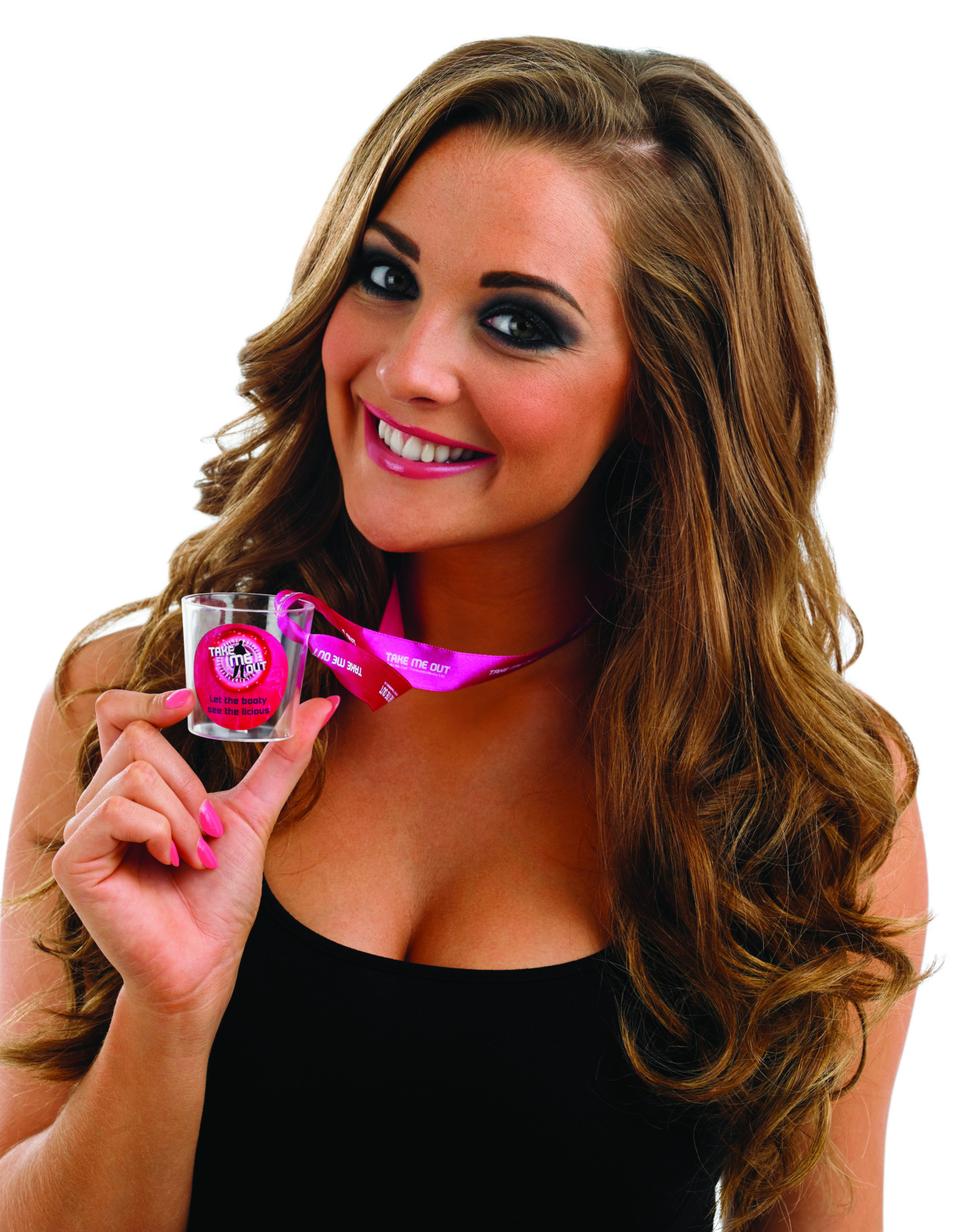 Take Me Out Hen Party Accessory Let The Booty See The Licious Shot Glass