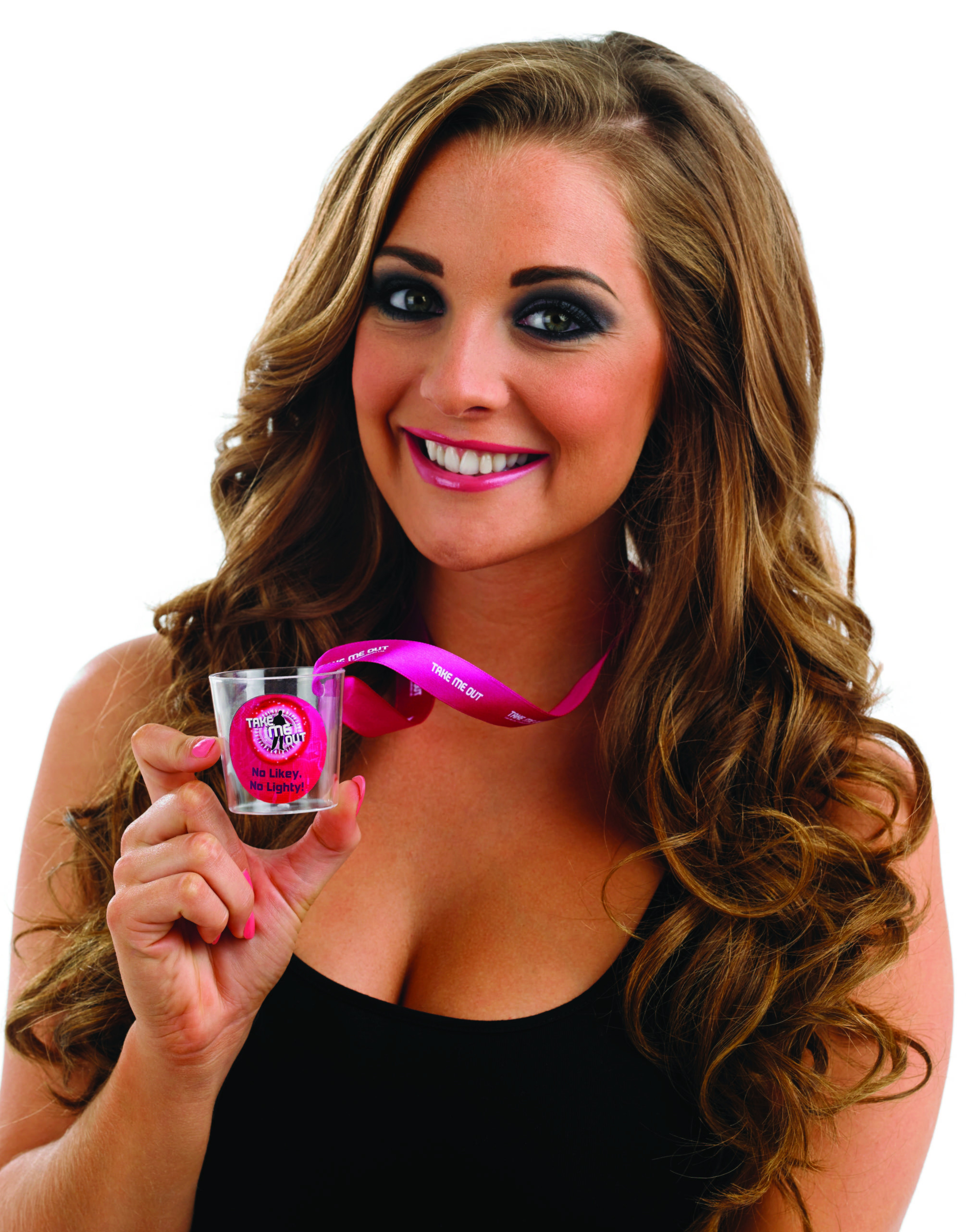 Take Me Out Hen Party Accessory No Likey No Lighty Shot Glass
