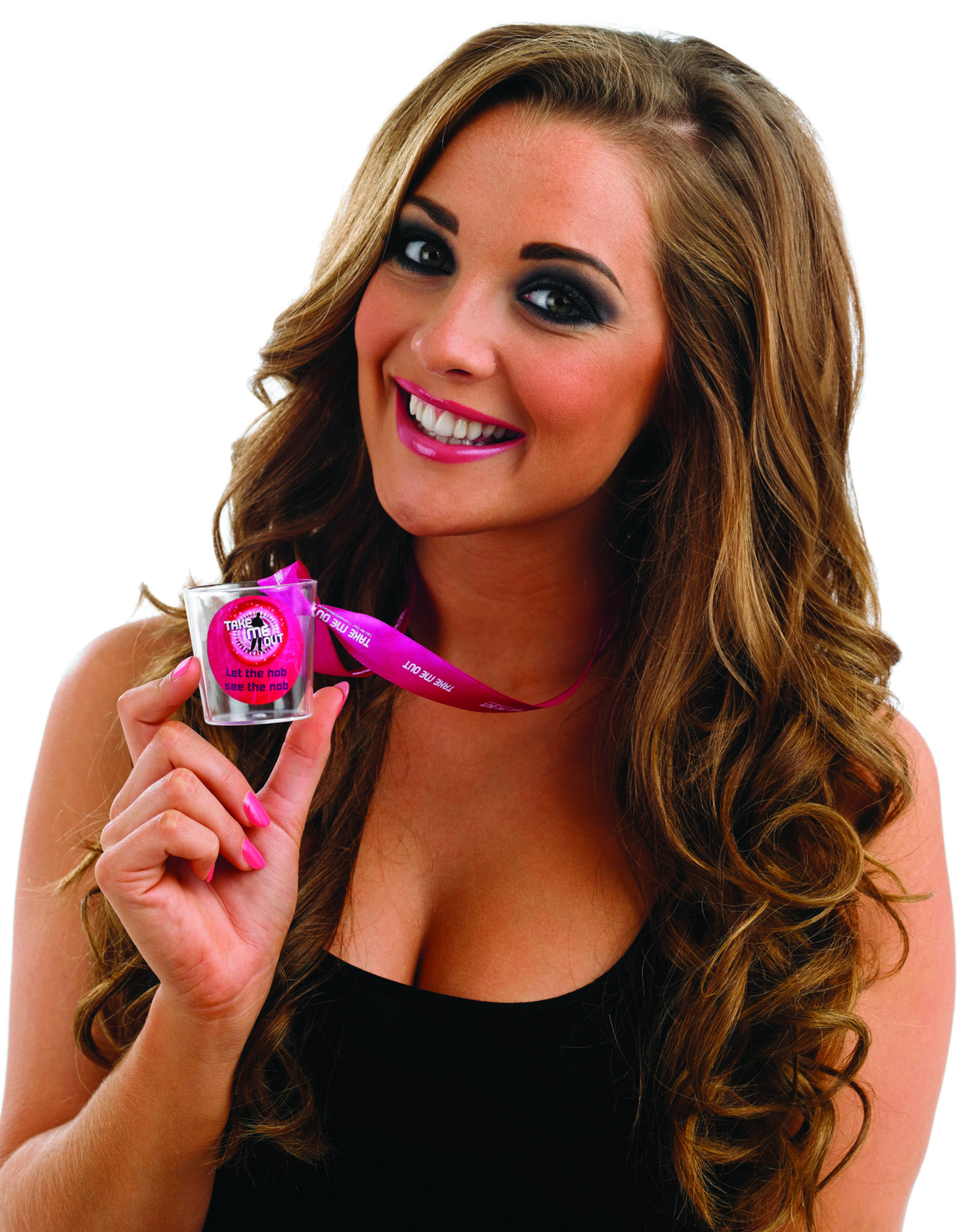 Take Me Out Hen Party Accessory Let The Hob See The Nob Shot Glass