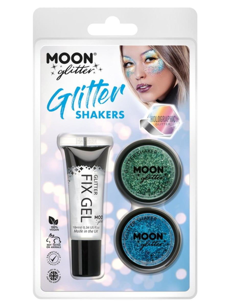 Moon Glitter Holographic Glitter Shakers Assorted