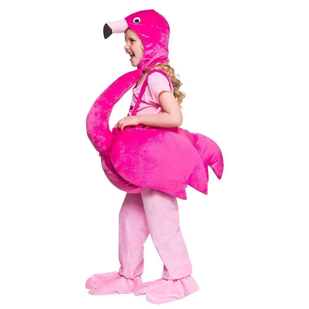 Child Flamingo Animal Fancy Dress  Costume
