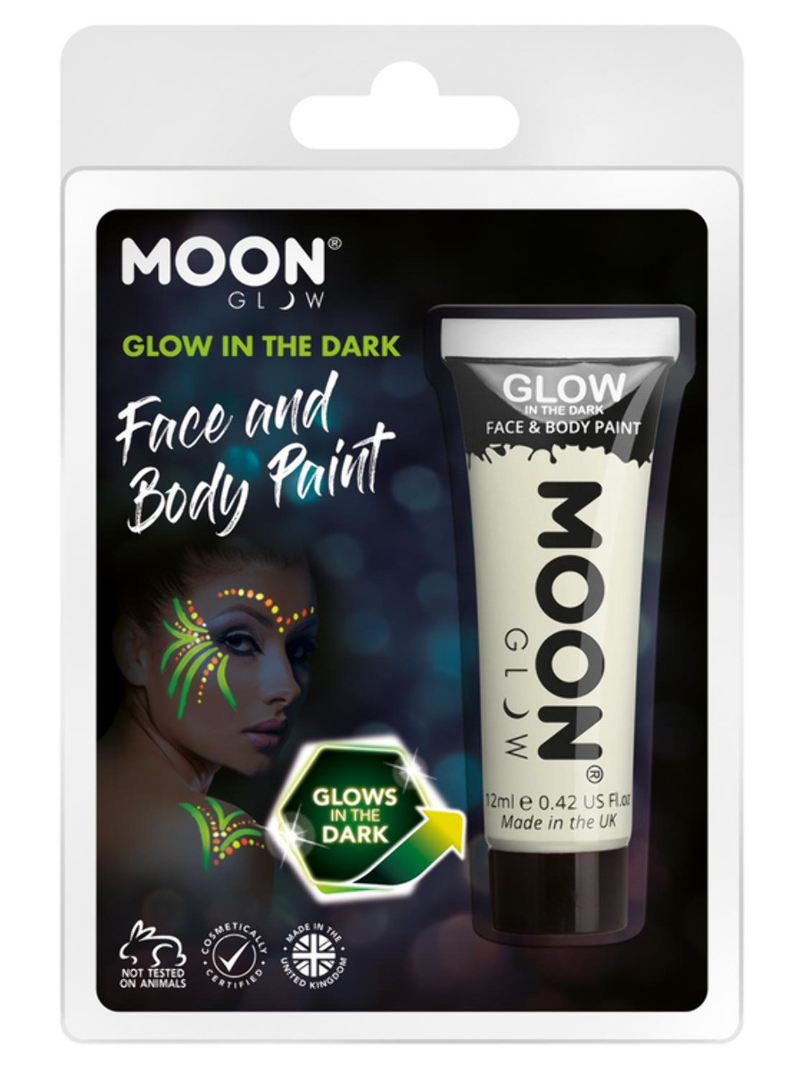 Moon Glow - Glow in the Dark Face Paint Clear