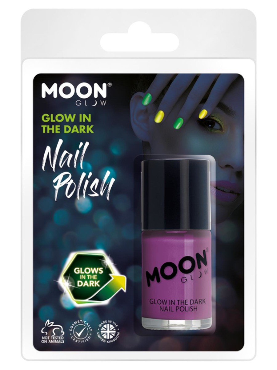 Moon Glow - Glow in the Dark Nail Polish Purple