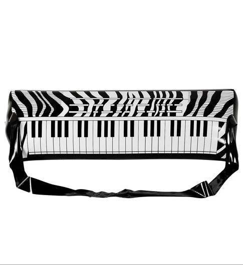 Inflatable 80'S Style Electronic Keyboard Fancy Dress Accessory