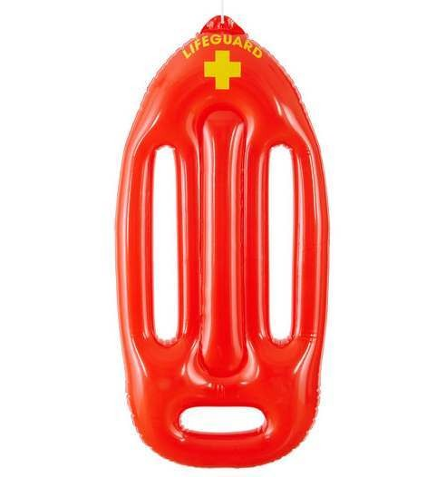 Inflatable Lifeguard Float Fancy Dress Accessory