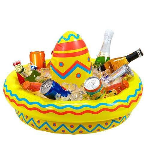 Large Inflatable Sombrero Party Drinks Cooler