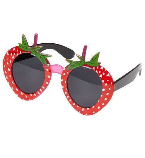 Adult Strawberry Glasses Fancy Dress Accessory