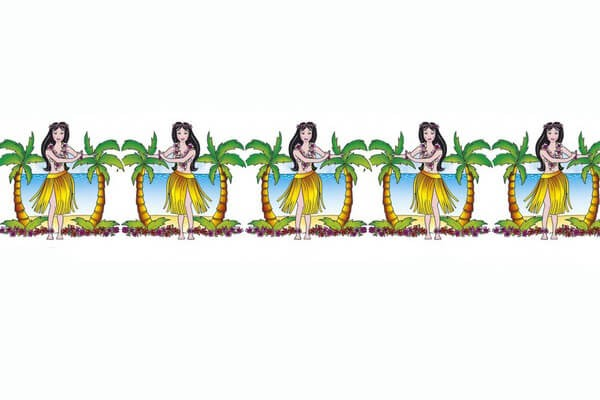Hawaiian Hula Dancer Garland 3m Fancy Dress Accessory