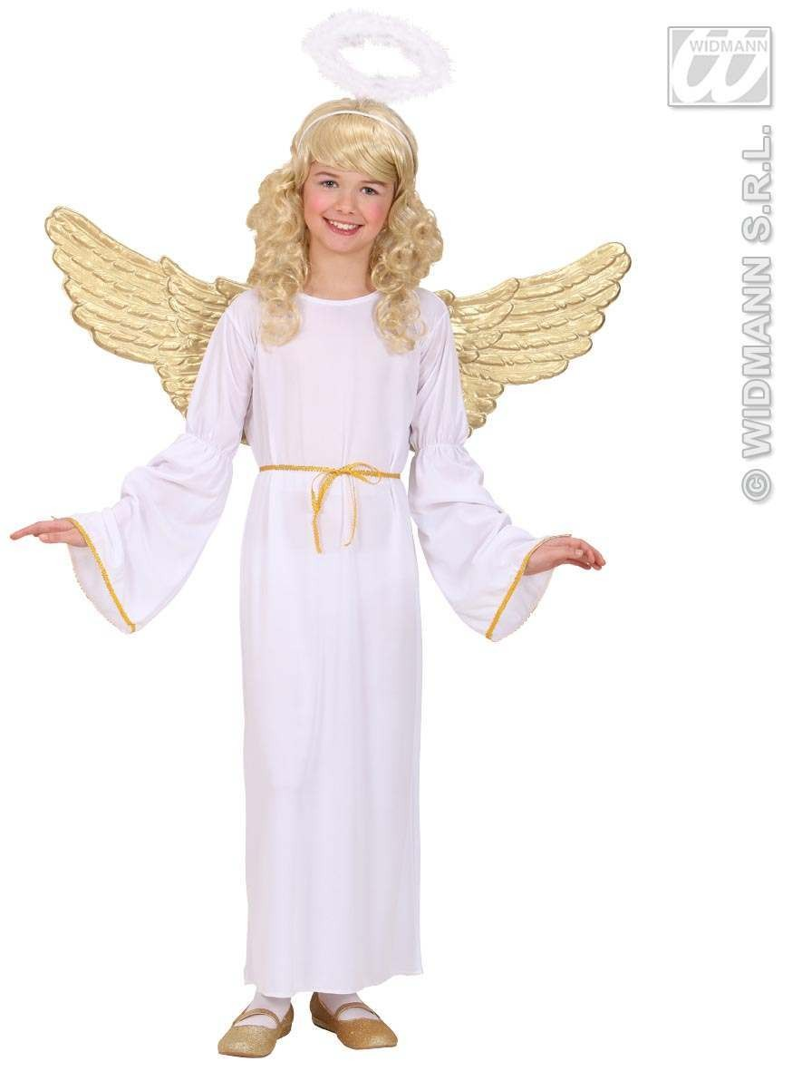 Angel Fancy Dress Costume Girls (Christmas)