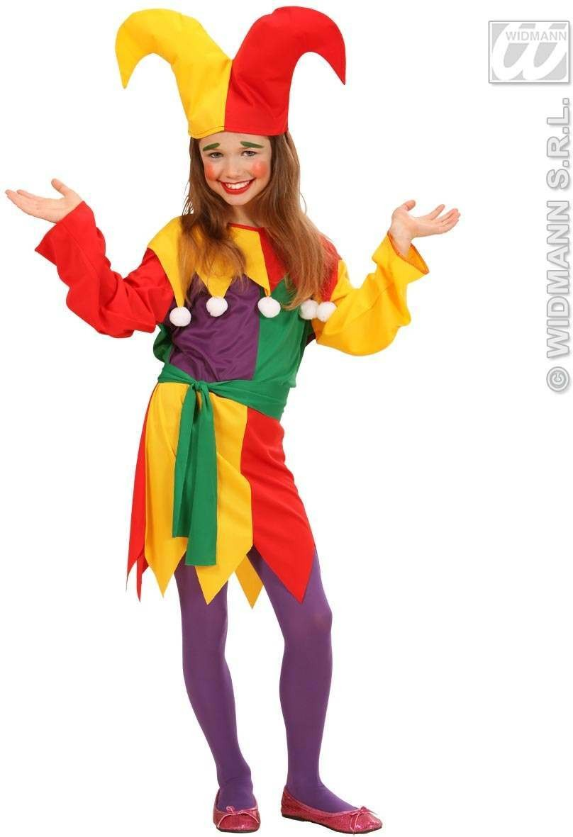 Jolly Jester Fancy Dress Costume (Clowns)