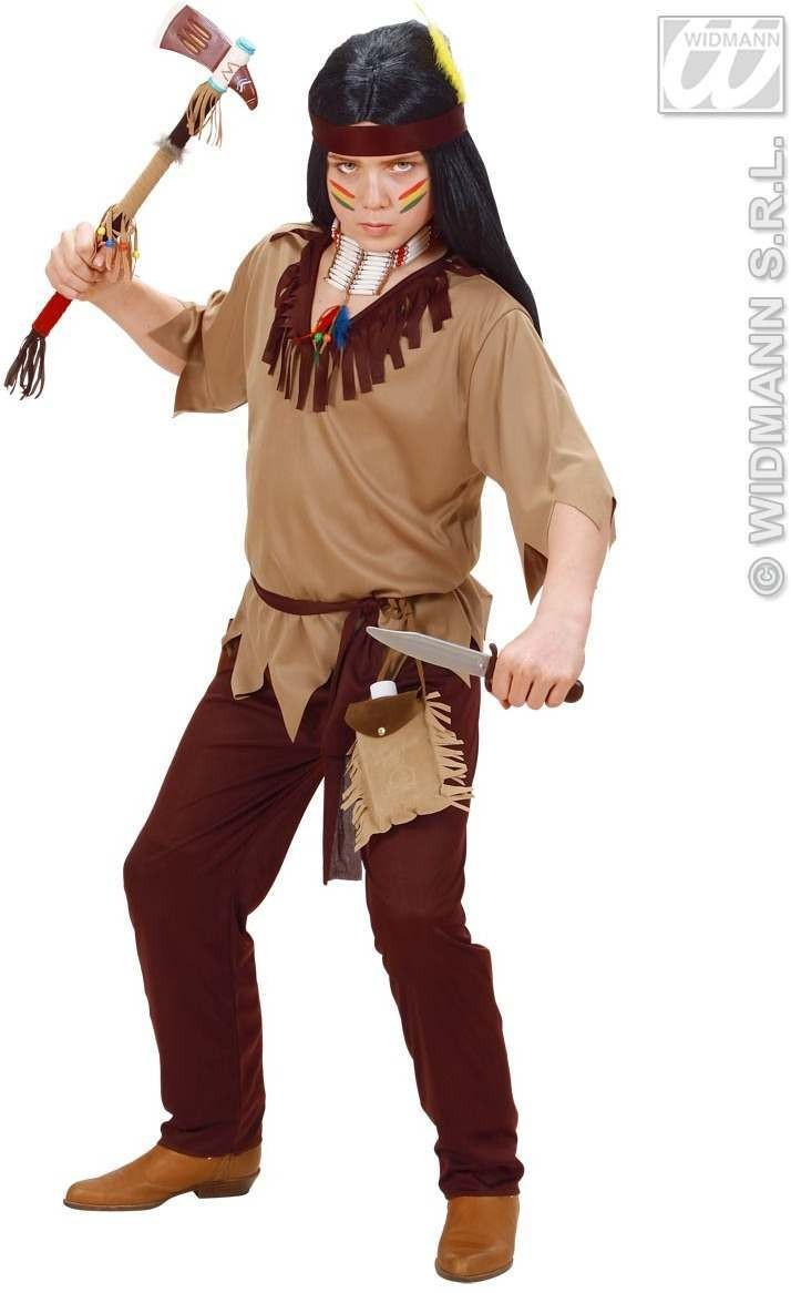 Indian Boy Fancy Dress Costume Boys (Cowboys/Indians)