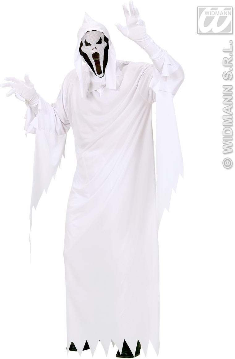 Ghost Fancy Dress Costume Mens (Halloween)
