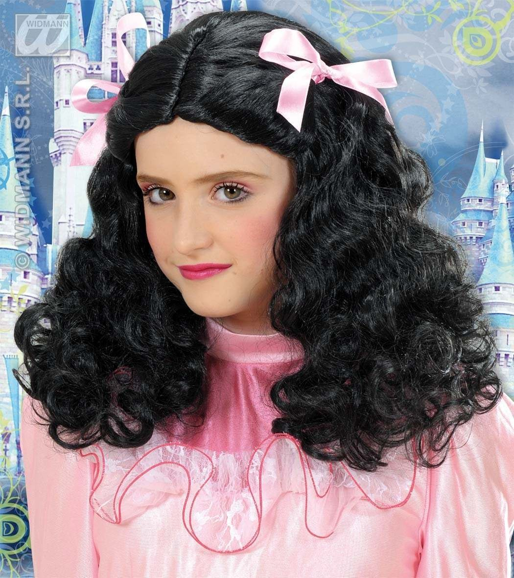 Gracious Princess Wig - Black - Fancy Dress (Royalty)