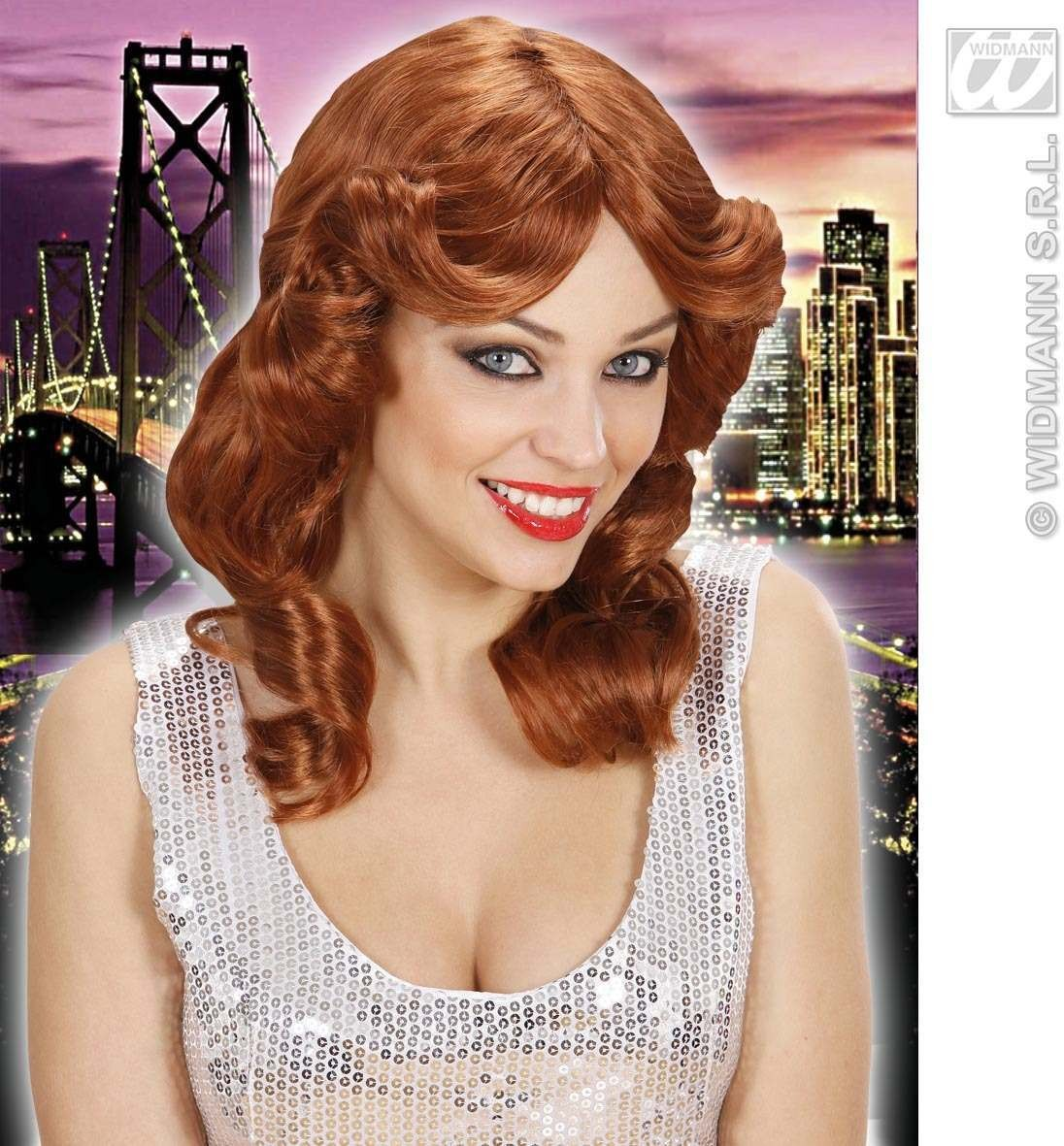 Belen Wig - Auburn - Fancy Dress