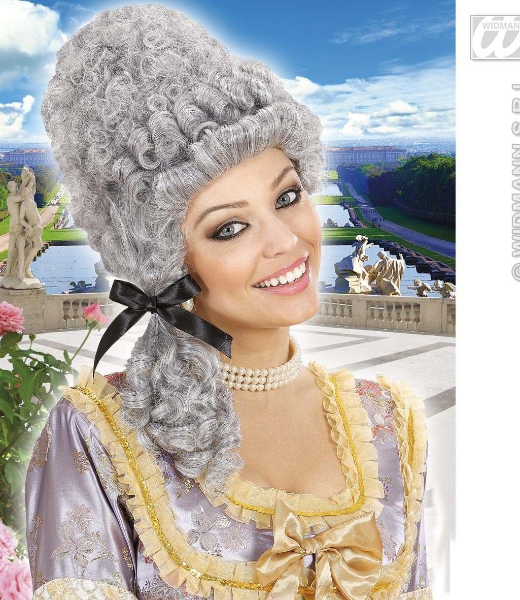 Versailles Wig - Grey - Fancy Dress