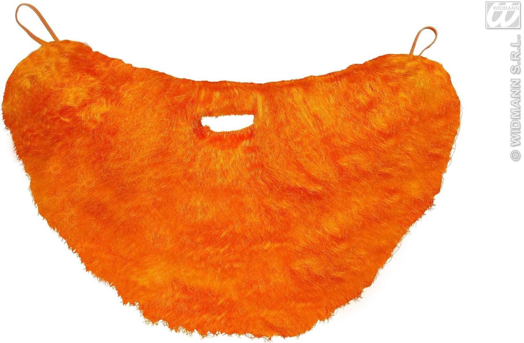 Character Beard With Moustache - Orange - Fancy Dress (Animals)