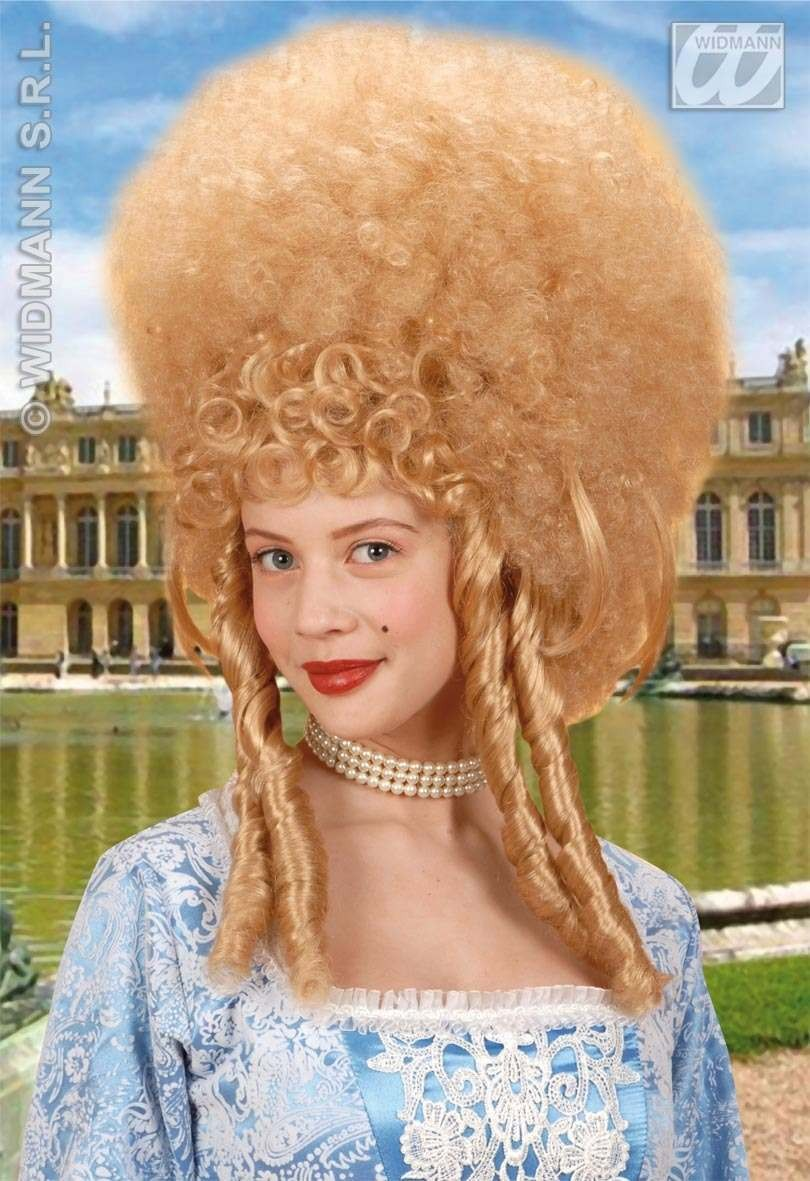 Madame Bovary Wig Blonde - Fancy Dress