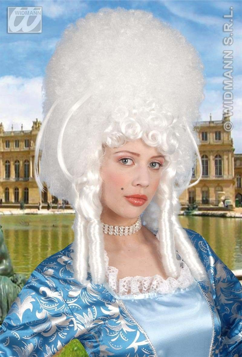 Madame Bovary Wig White - Fancy Dress