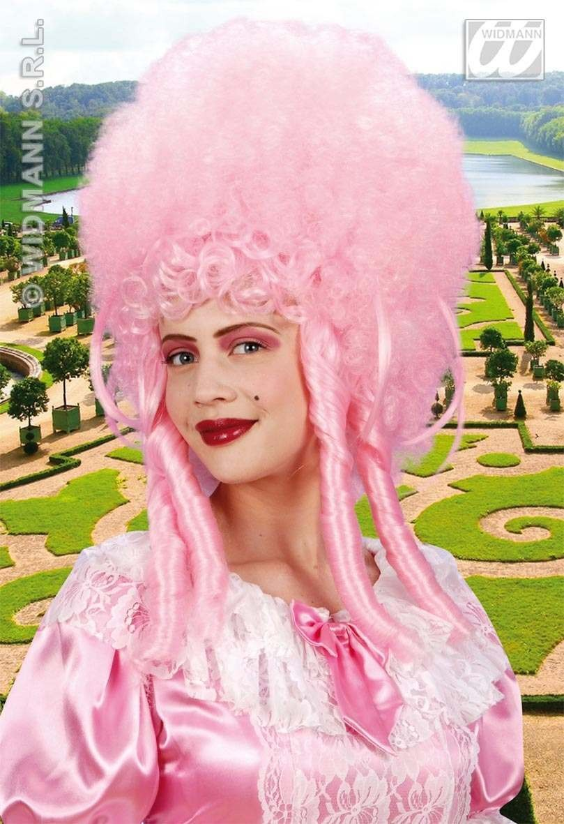 Madame Bovary Wig Pink - Fancy Dress