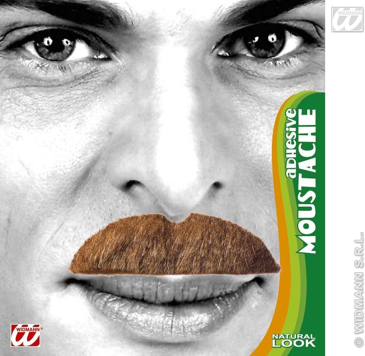 Moustache 6 Styles Blonde - Fancy Dress