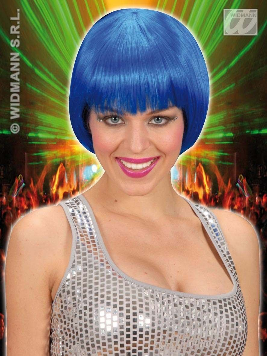 Rave Wig - Blue - Fancy Dress