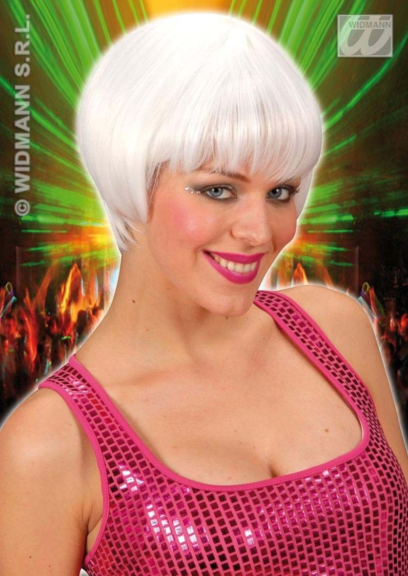 Rave Wig - White - Fancy Dress