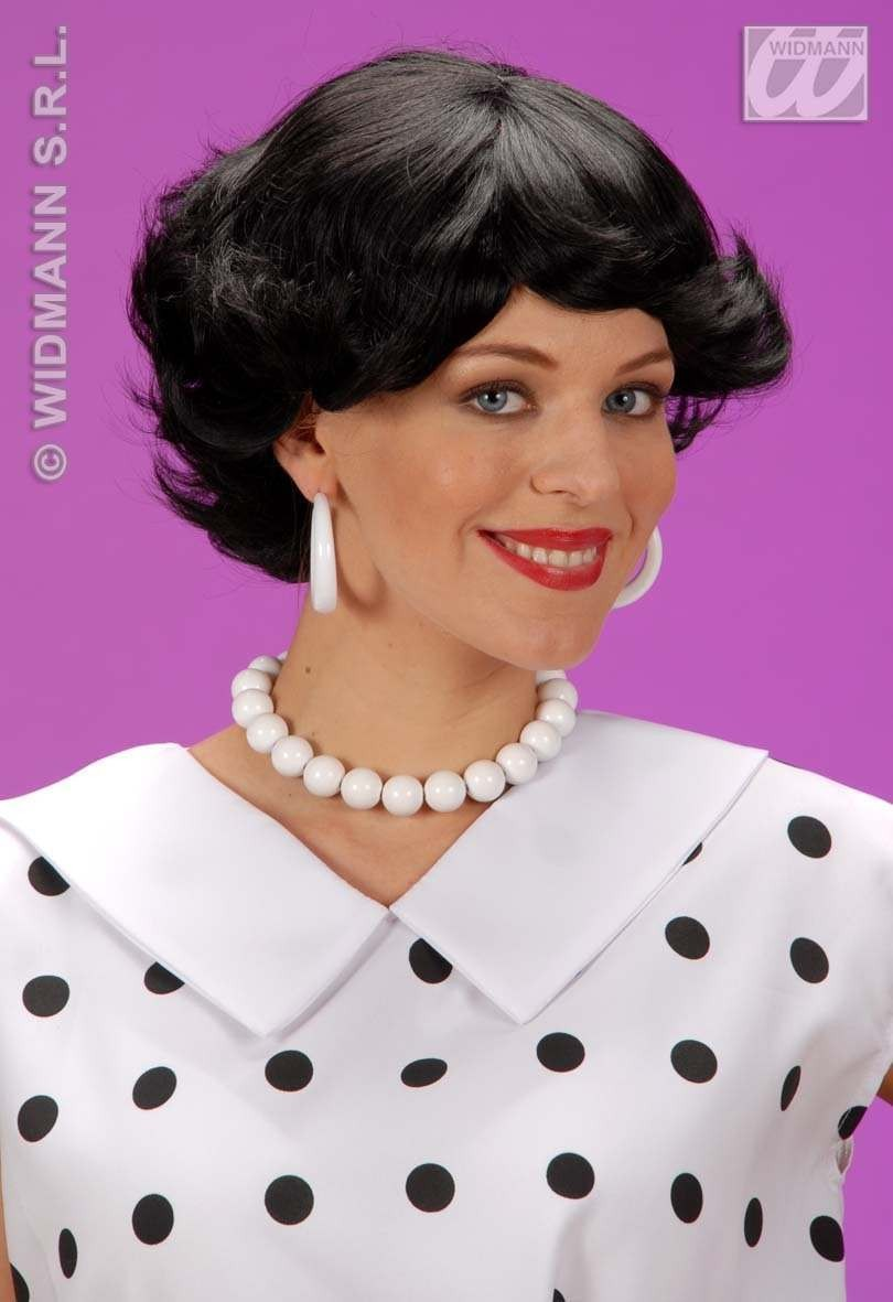 Audrey Wig - Black - Fancy Dress